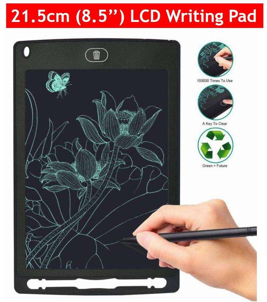 LCD Writing & Drawing Tablet for Kids 0
