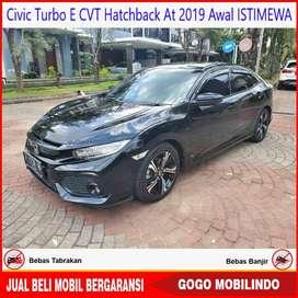 Civic Turbo Hatchback E at 2019 Awal ISTIMEWA Bisa Kredit