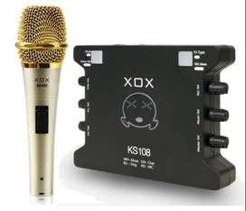 XOX KS108M400 - Online Singing Device Bundling Pack