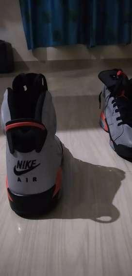 Nike Jordan shoes Size Uk 10.one time used.