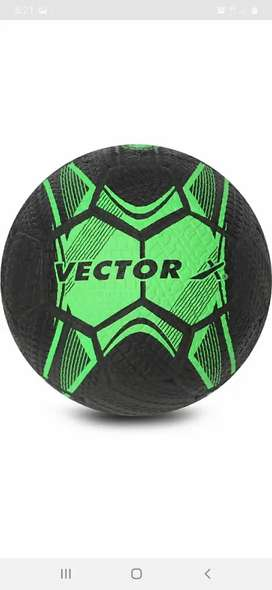 Vector X hard footballs, Rubber moulded, size 5
