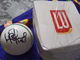 Ahmed Shehzad's Signed Cricket Ball