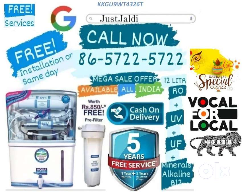 KKGU9WT4326T RO Water Filter DTH Water Purifier ac   home water filtra