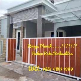 Pagar Rumah, Pintu Gerbang, Garasi, Railing tangga, Tralis Pintu dll