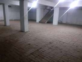 commercial hall/basement for rent