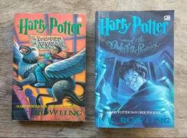 Novel Harry Potter Tahun 3 dan 5