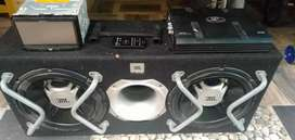 1 set audio siap pasang