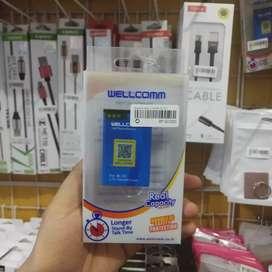 Baterai Wellcomm BL-5C (Rave cell Sako)