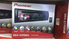 Single Din Pioneer DEH-X2950UI USB/AUX CD Receiver garansi 1 tahun