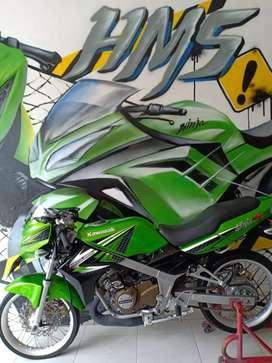 Kawasaki Ninja R 2013 Pajak Baru siap pakai