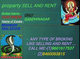 ANY TYPE OF BROKING LIKE SELLING AND RENT CALL ME