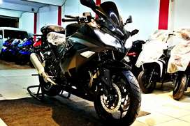 250cc air cool kawasaki Ninja original replica heavy bike sound