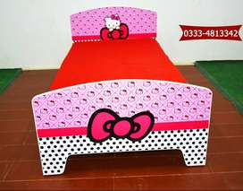 Girls Single Beds | Brand New Kids Single Bed for Girls Sale