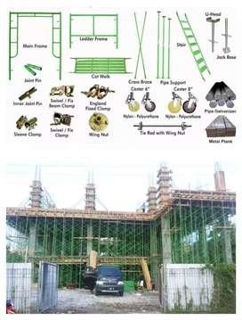 Scaffolding kapolding steger andang galam bambu rental sewa jual 54
