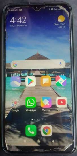 Redmi 8a duel Bill box all accessories available in gud condition
