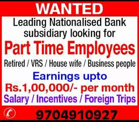 Insurance manager (only part time)