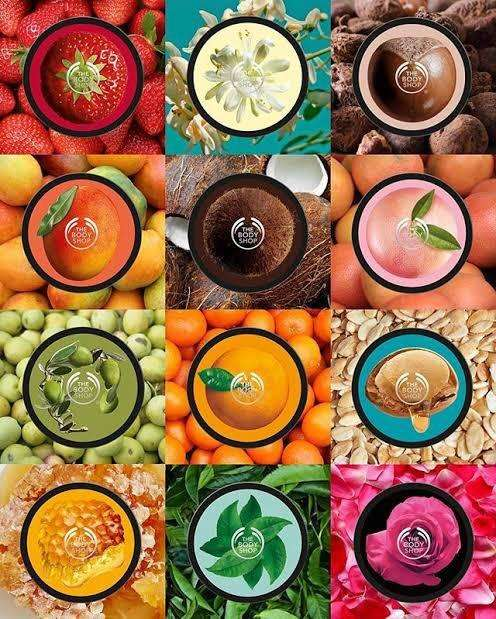 The body shop body butter 0