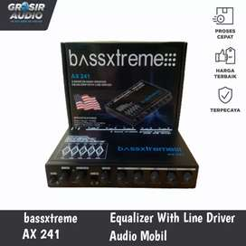 Preamp Parametric Equalizer bassxtreme AX 241
