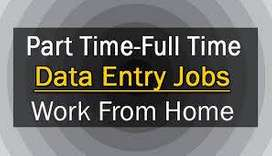 Form Filling /Simple Typing/ Data entry jobs- Part Time /Full Time.  Y