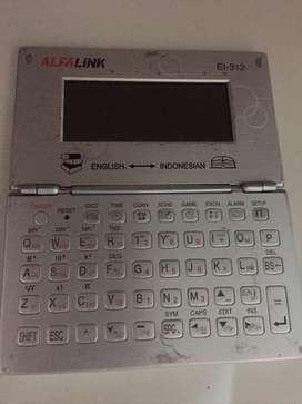 Alfalink EI 312 kamus elektronik