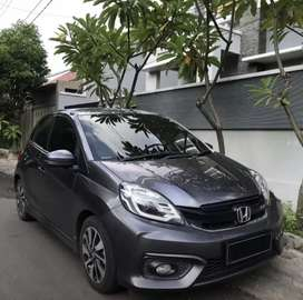 Brio RS AT 2018 Low KM +Audio+Subwofer+Power  Tgn 1  dr Baru