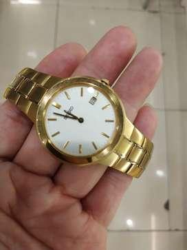 Jam Tangan Pria Premium Gold
