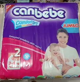 Canbebe diapers size small 2 (3-6kg)