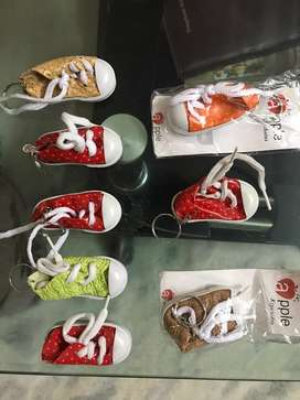 Imported shoe model key chains