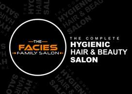 THE FACIES SALON FOR FRANCHISE@ 5lacs With Full Setup.