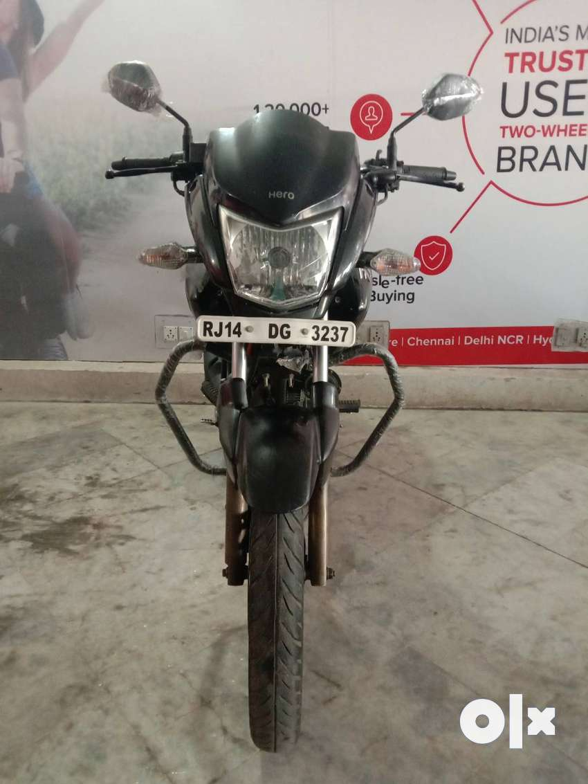 Good Condition Hero Hunk Dss with Warranty |  3237 Jaipur 0