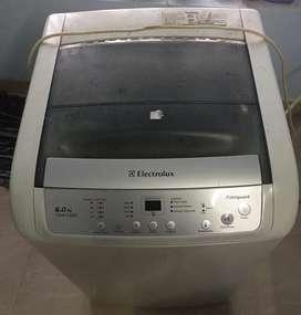 Old used washing machine