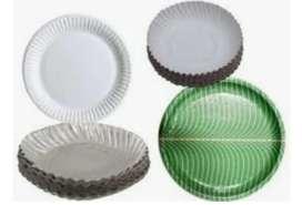 Akhana wholesale paper plate bikri kora hoi.  Per packet Rs-15