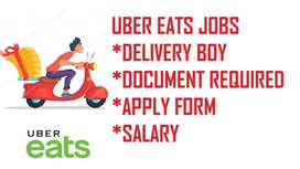Hiring food delivery boys in Uber eats Chennai