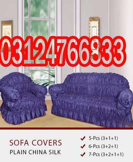 Sofa Covers fading over time. Creamy whitewashed doors and