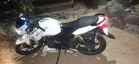 TVS Apache RTR180 ABS White