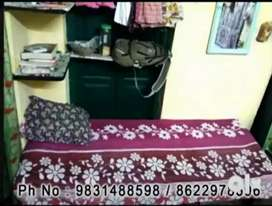 Ladies Hostel near Dumdum Station and Rabindra Bharati University.