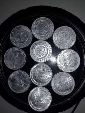 Uang koin Rp 50 sen 1959