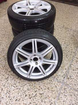 Rims and tyres 17profile