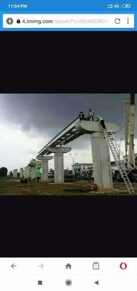 Urgent Need Labours and Mistri For Bridge