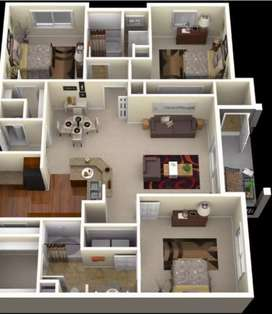 3bhk flat for sell in Patna ram Krishna Nagar