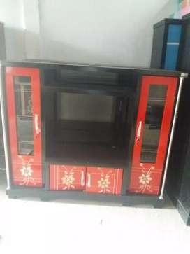 Bufet tv avanza / bufet tv murah / bufet tv minimalis / bufet tv merah