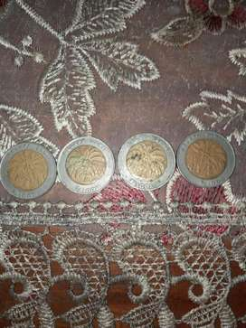 jual uang koin 1000 tahun 1996 & 2000