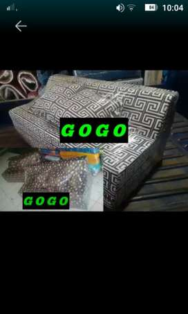 Kasur busa sofabed lipat murah no 3 10x120x180 abstrak
