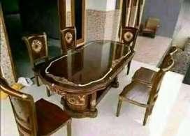 kursi meja makan set jati harga terjangkau 0012