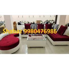 PL24 Corner sofa set with 3 years warranty Cal us