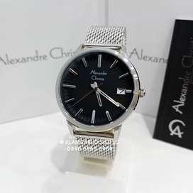 Jam Tangan Alexandre Christie AC 8640 Silver