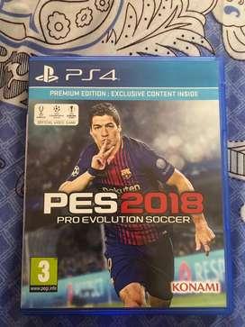 Kaset PS4 PES 2018 Premium Edition