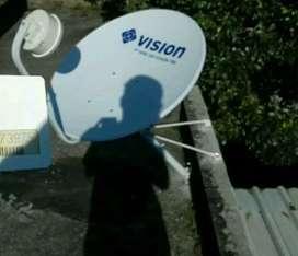 Pemasangan terbaru indovision mnc vision family pack jernih stabil