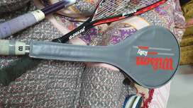 Wilson Rally Squash racket with cover original