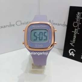 Jam Tangan Alexandre Christie AC 9336 Lilac